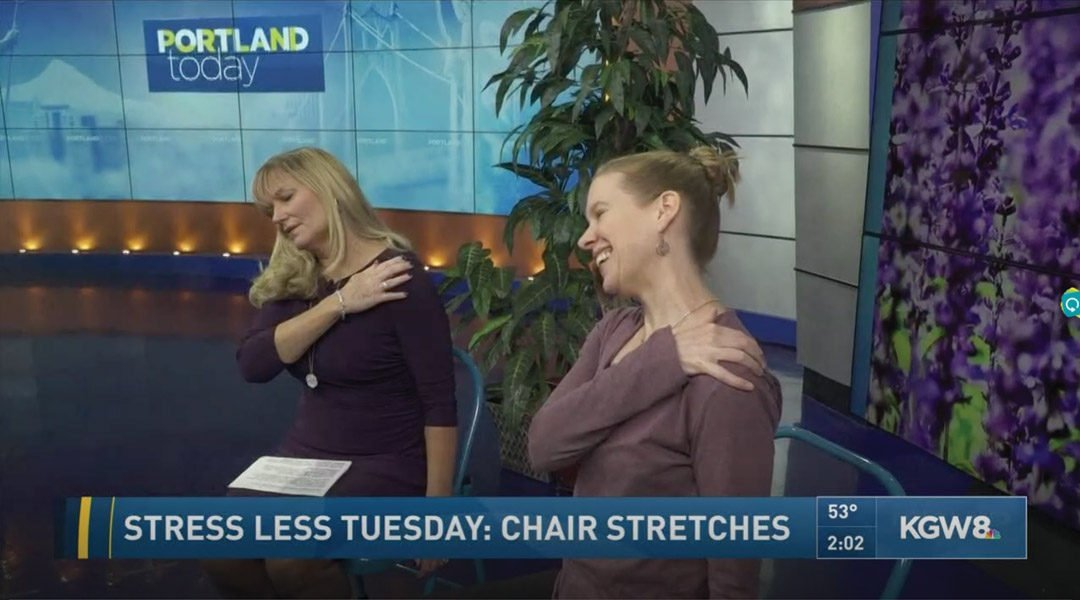 Chair Yoga for Neck and Shoulder Pain