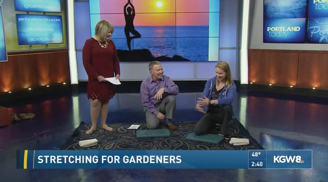 Gardening Posture for More Comfort