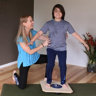All ages can benefit from learning better posture during a private Yoga class at Yoga Mojo & Movement Therapy in Vancouver, Washington