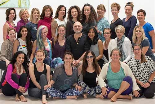 Yoga Anatomy and Breath-centered Therapeutics with internationally recognized expert and author Leslie Kaminoff (center)