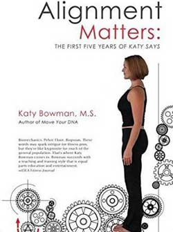 Learn about why alignment (and moving the body) matters in this book or learn more at Yoga Mojo & Movement Therapy in Vancouver, WA