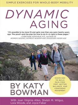 Learn how to age gracefully in this book or at Yoga Mojo & Movement Therapy in Vancouver, WA