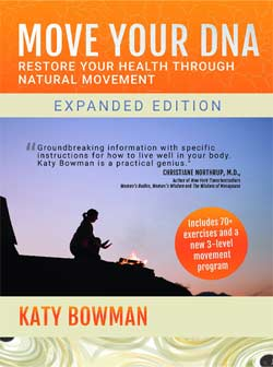 Book about how to move and not just exercise - and why this is important. Learn more in person at Yoga Mojo & Movement Therapy in Vancouver, WA.